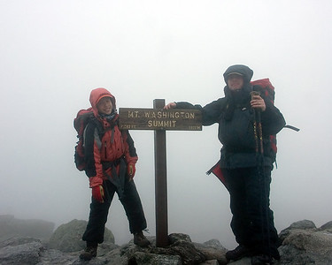 2006 08 20-22 New Hampshire: Mt. Washington: A Hike Through the Clouds