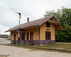 The old railroad depot