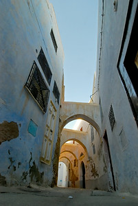 Arched street of Kairouan