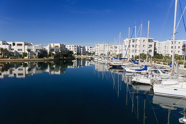 Tunisian Harbor - Hammamet