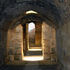 Corridor & stairs under Amphitheater, El Jem