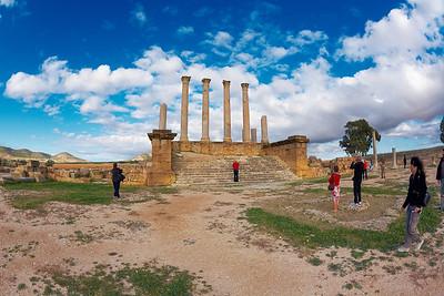 Ruins of Douga - Tunisia