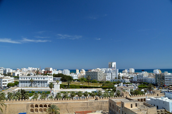 View from Rabat, Sousse