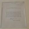 Eisenhower Letter, American Cemetery, Carthage