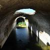 Culvert in Roman Viaduct ruins, Carthage