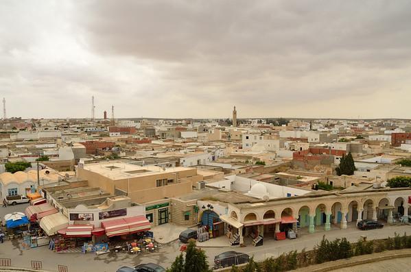 View of El Jem from Amphitheater, El Jem