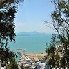View of Gulf of Tunis, Sidi Bou Said