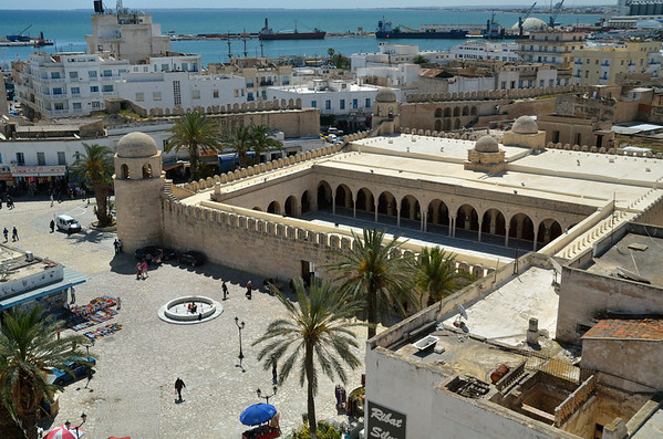 Mosque near Rabat, Sousse