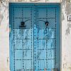 Blue doors, Sidi Bou Said