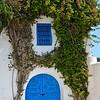 Blue doors and Ivy, Sidi Bou Said