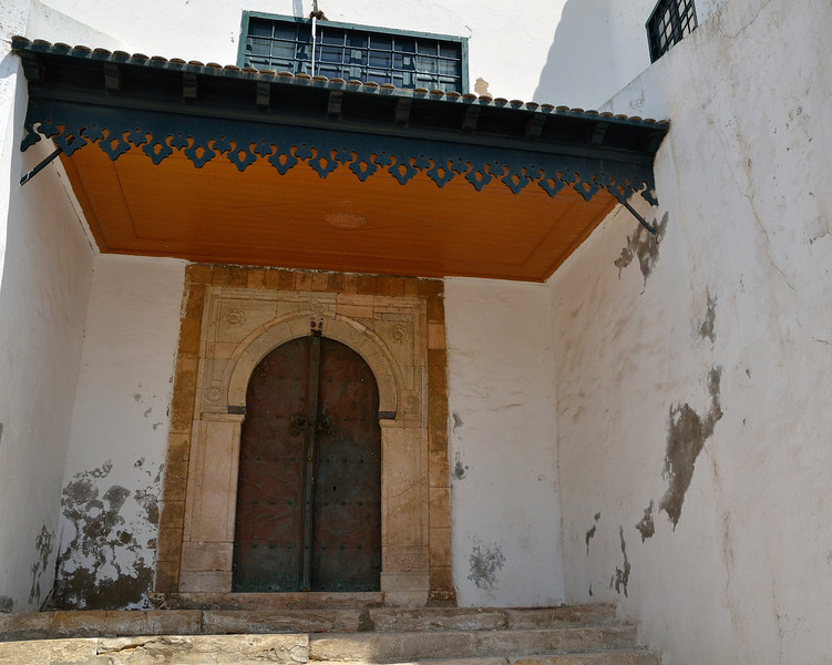 Ornate entryway, Sidi Bou Said