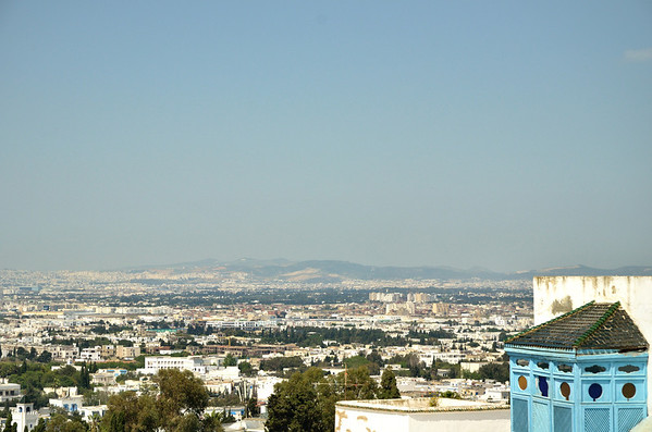 Rooftop view, Sidi Bou Said