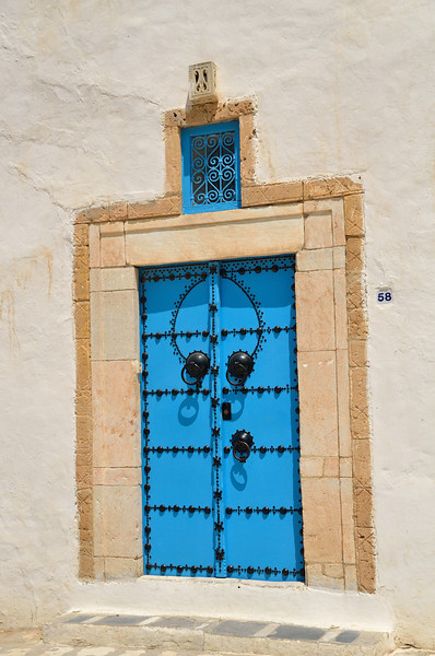 Doorway, Sidi Bou Said