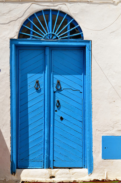 Blue door, Sidi Bou Said