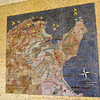 Map of American & Allied Forces in Tunisia during WWII, American Cemetery, Carthage
