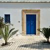 Blue doors and palms, Sidi Bou Said