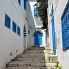 Stairway to door, Sidi Bou Said
