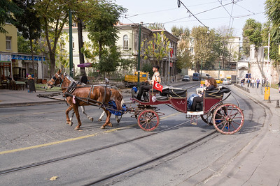 Europe - Turkey - Istanbul - Horse and Carriage