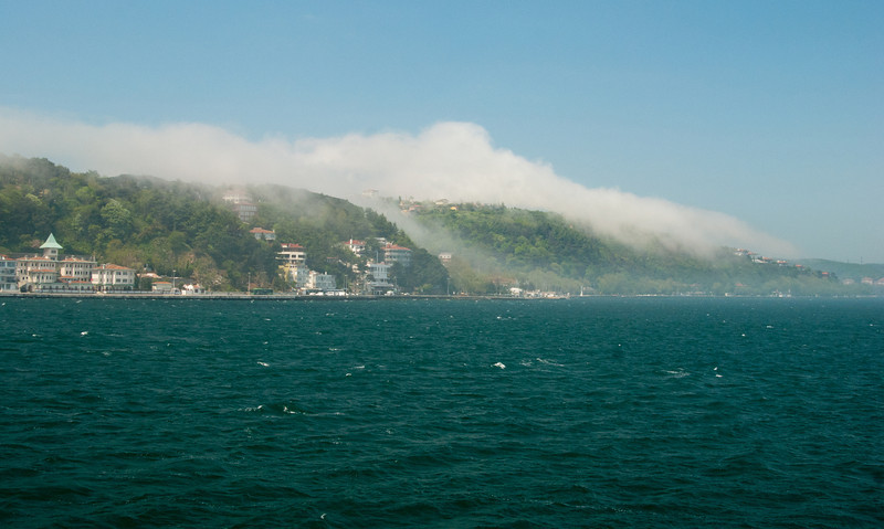 The Fog rolling in.