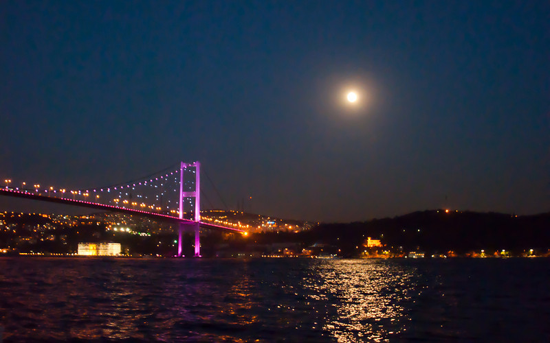 Bosphorus Bridge.