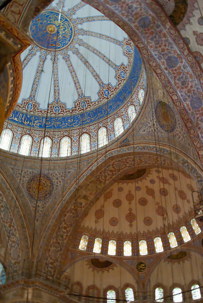 Domes of the Blue Mosque.