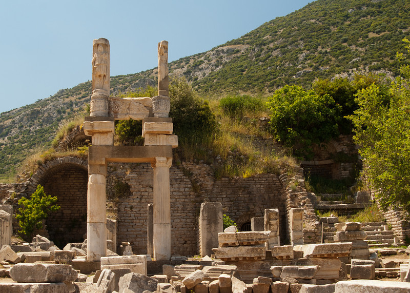 The Temple of Domitianus.