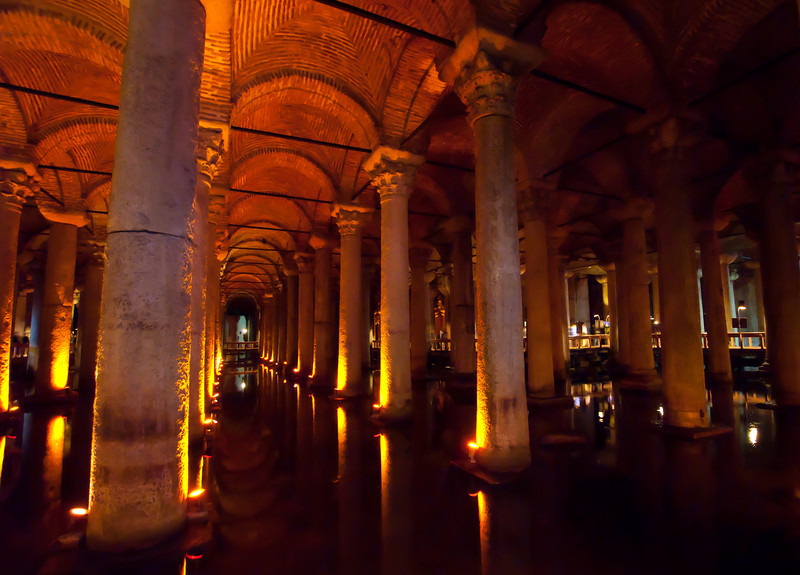 The Cisterns.
