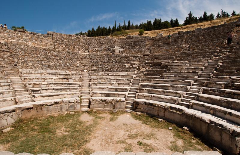 The Odeion of Ephesus.