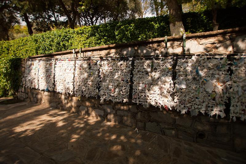 The Wishing Wall.