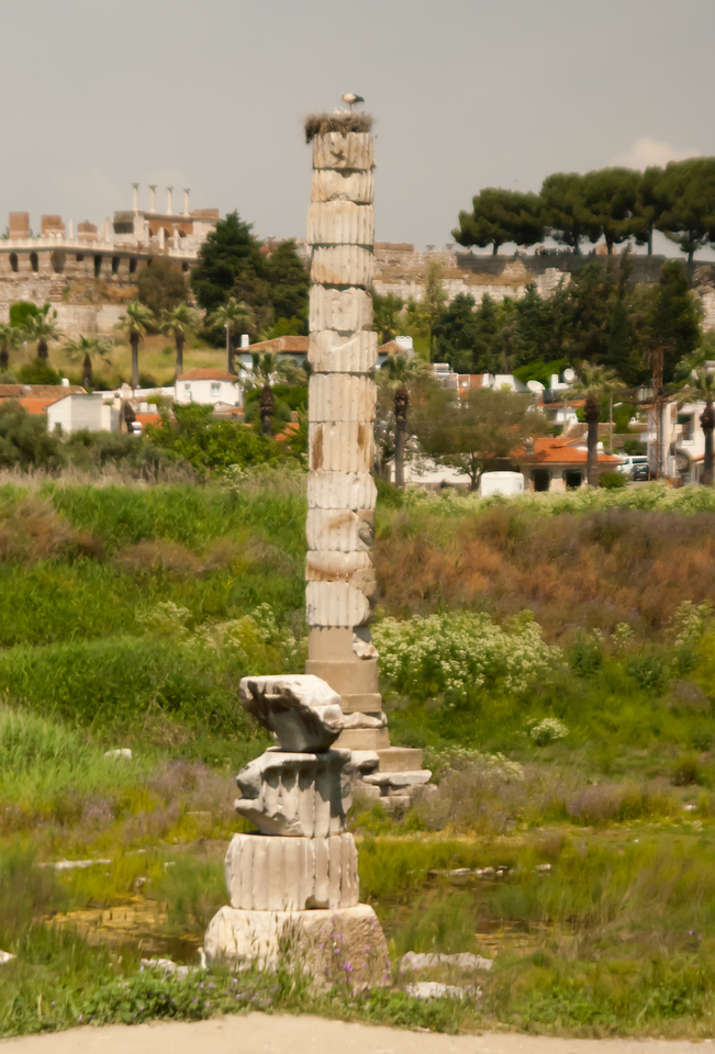 Remains of the Temple of Artemis.