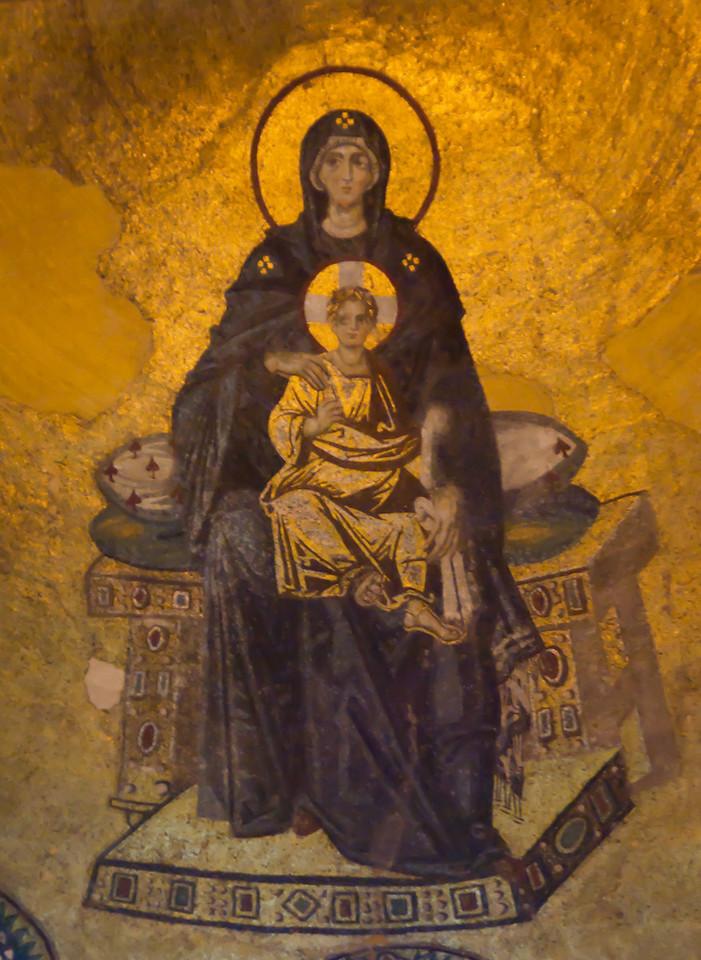 Apse Mosaic of Hagia Sophia.