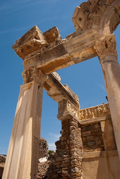 Angle of the Temple of Hadrianus.
