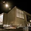 Turku åbo kirjasto library finland night lights