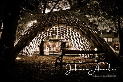 Turku åbo finland night lights art artwork autumn