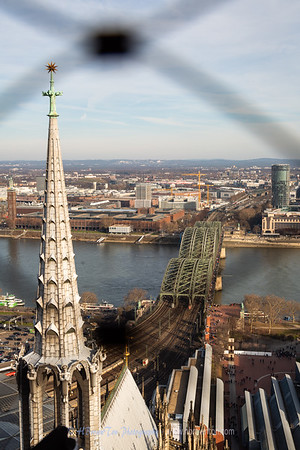 From atop Cologne Cathedral