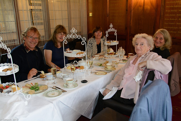 Afternoon Tea with Barbara and the Munros in September 2013