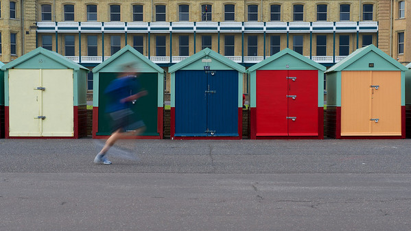 Beach Hut Runner