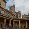 Roman bath, Bath.