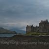 Eilean Donan Castle, Loch Alsh, Scotland, April 2014.