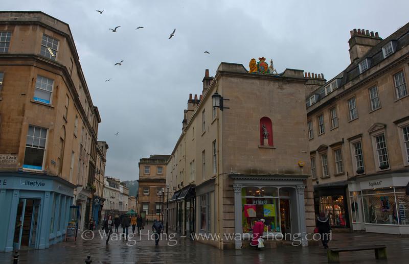 Bath - street view.