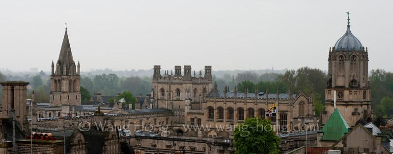 Oxford in the rain.