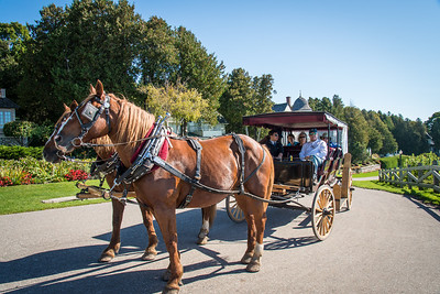Carriage rides, Mackinac Island