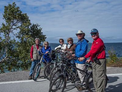 Bicycling on Mackinac Island