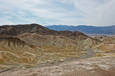Zabriskie Point - looking southwest