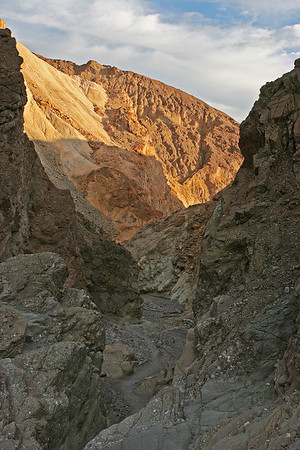 The Gower Gulch Trail below Zabriski Point.