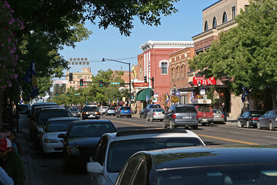 Sept 10, 2011, East Main Street, Bozeman MT, Day 2.