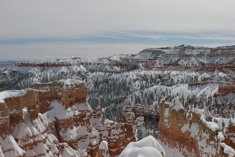 Rim Trail between Sunset and Sunrise Points in Bryce.