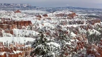 Video - click arrow to view. From Sunset Point in Bryce.