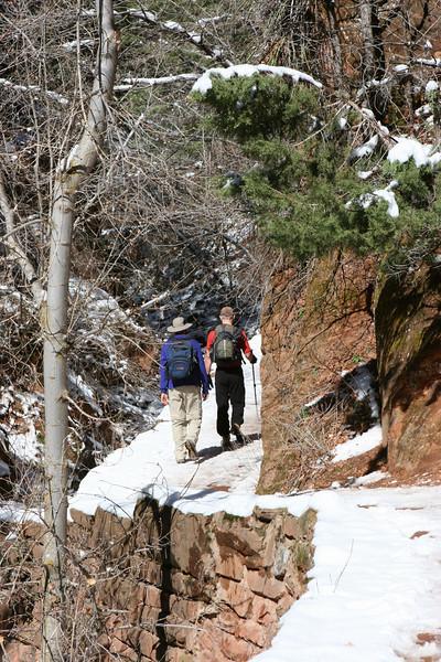 West Rim Trail to Angels Landing in Zion.