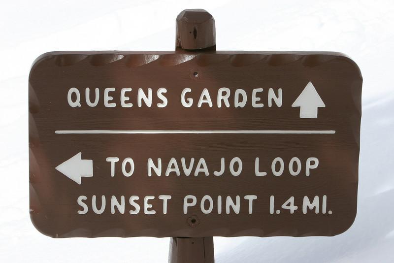 Queens Garden Trail in Bryce.